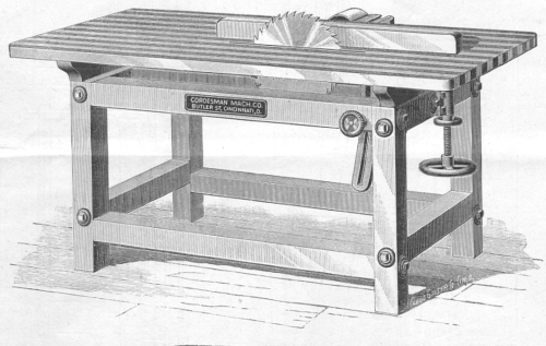 wood table saw cordsman 1